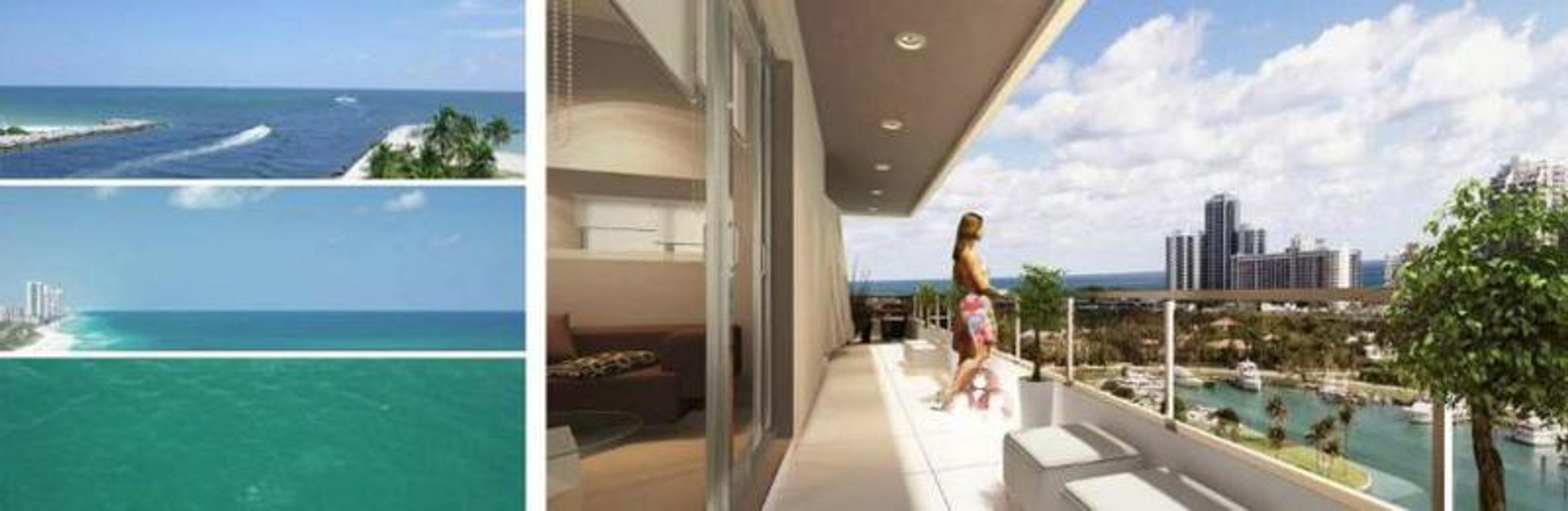 Apartamento en venta 2 dormitorios - Harbour 20Park - Miami